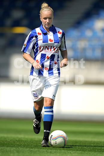 HEERENVEEN - Persdag Heerenveen Eredivisie vrouwen , seizoen 2011-2012, 07-07-2011 Bernou Hylkema