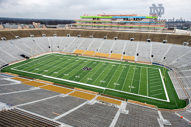Dec. 16, 2015; View of the field from the premium seating in Duncan Student Center. (Photo by Matt Cashore/University of Notre Dame)