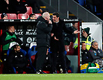 Watford's Marco Silva argues with the fourth official during the premier league match at Selhurst Park Stadium, London. Picture date 12th December 2017. Picture credit should read: David Klein/Sportimage
