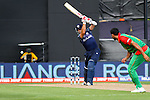 Scotland's Kyle Coertzer cover drives. ICC Cricket World Cup 2015, Bangladesh v Scotland, 5 March 2015,  Saxton Oval, Nelson, New Zealand, <br /> Photo: Marc Palmano/shuttersport.co.nz
