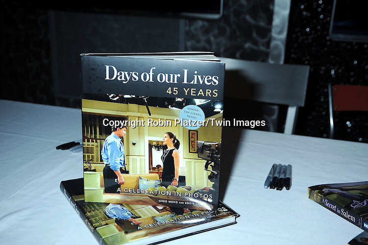 "The Book attending the Days of Our Lives Book Signing on February 25, 2011 at The NBC Experience Store in New York City. They signed ""Days of Our Lives 45 Years: A Celebration in Photos"" and "" A Secret in Salem""."