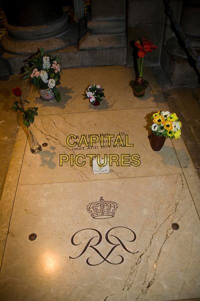Prince Rainier?s tomb inside Saint Nicholas Cathedral, Monaco, France