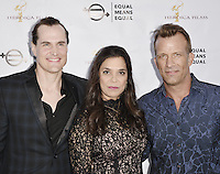 "BEVERLY HILLS, CA - AUGUST 26: Kamala Lopez and Thomas Jane attend the ""Equal Means Equal"" Special Screening at the Music Hall on August 20, 2016 in Beverly Hills, CA. Koi Sojer, Snap'N U Photos / MediaPunch"