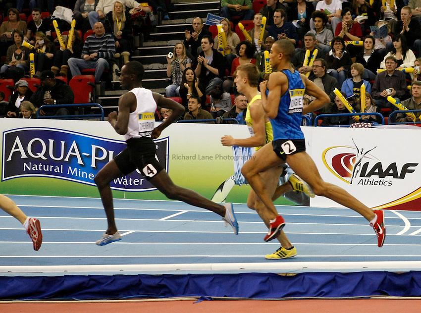 Photo: Richard Lane/Richard Lane Photography. Aviva Grand Prix. 20/02/2010. Men's 800m.