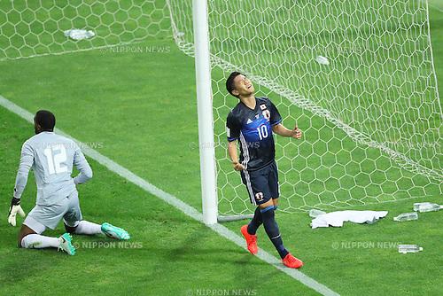Shinji Kagawa (JPN), <br /> SEPTEMBER 1, 2016 - Football / Soccer : <br /> FIFA World Cup Russia 2018 Asian Qualifier <br /> Final Round Group B <br /> between Japan 1-2 United Arab Emirates <br /> at Saitama Stadium 2002, Saitama, Japan. <br /> (Photo by YUTAKA/AFLO SPORT)