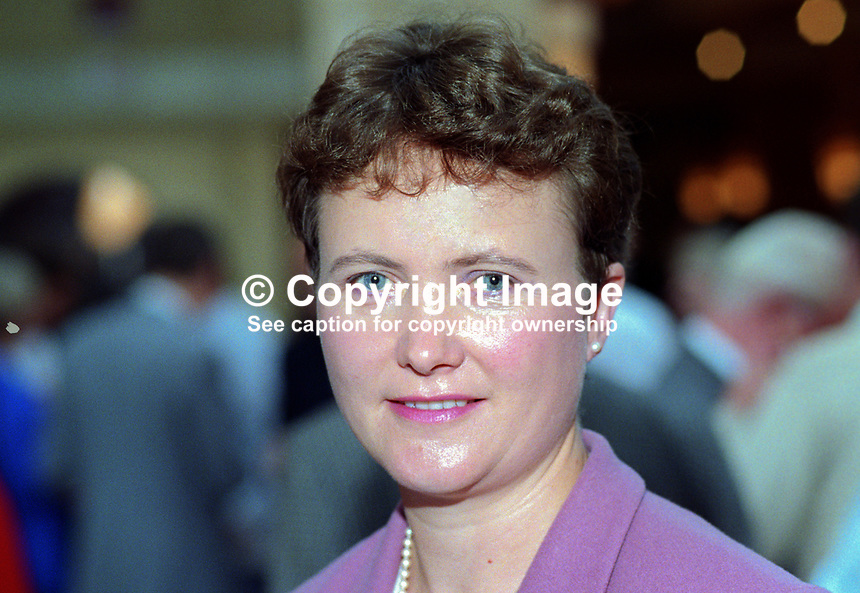 Judith Church, official, Manufacturing Science Finance Union, MSFU, first woman, to be elected in her own right to the union section of the National Executive Committee, Labour Party, at the party's annual conference in Blackpool. 19921030JC1..Copyright Image from Victor Patterson, 54 Dorchester Park, Belfast, UK, BT9 6RJ..Tel: +44 28 9066 1296.Mob: +44 7802 353836.Voicemail +44 20 8816 7153.Skype: victorpattersonbelfast.Email: victorpatterson@me.com.Email: victorpatterson@ireland.com (back-up)..IMPORTANT: If you wish to use this image or any other of my images please go to www.victorpatterson.com and click on the Terms & Conditions. Then contact me by email or phone with the reference number(s) of the image(s) concerned.