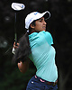 Malini Rudra of Syosset tees off on the 10th Hole of Bethpage State Park's Yellow Course during the practice round of the NYSPHSAA girls golf state championship on Friday, June 3, 2016.