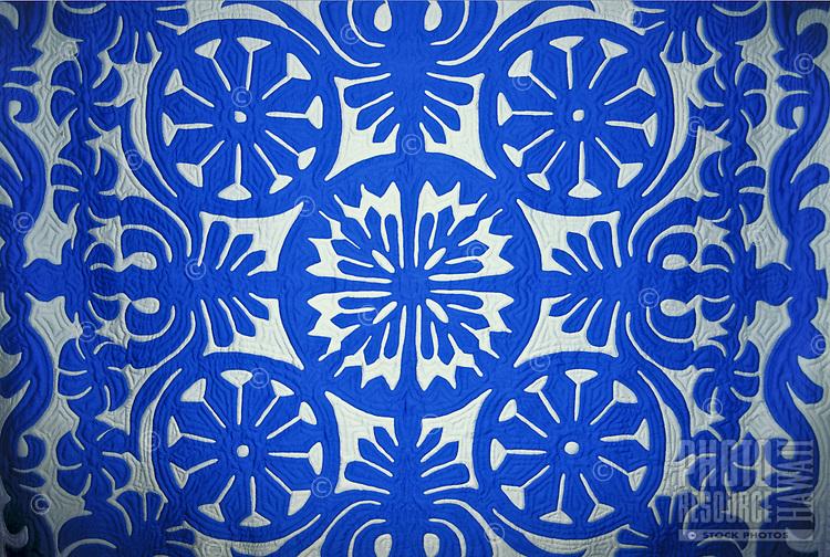 Hawaiian traditional quilt