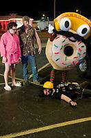 Sex Drive (2008) <br /> Josh Zuckerman, Clark Duke, Dave Sheridan &amp; Michael Cudlitz<br /> *Filmstill - Editorial Use Only*<br /> CAP/MFS<br /> Image supplied by Capital Pictures
