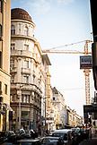 SERBIA, Belgrade, New construction amongst old buildings in Belgrade, Eastern Europe
