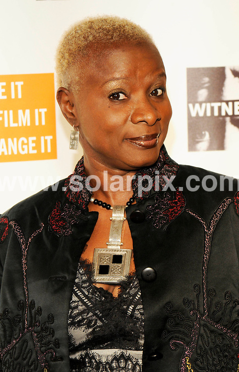"**ALL ROUND PICTURES FROM SOLARPIX.COM**.**SYNDICATION RIGHTS FOR UK, SPAIN, PORTUGAL, AUSTRALIA, S.AFRICA & DUBAI (U.A.E) ONLY**.The musician Peter Gabriel Hosts Fourth Annual ""Focus for Change Witness"" Benefit at the Roseland Ballroom in New York City in the USA. .This pic:Angelique Kidjo..JOB REF:7975-PHZ/Mark Dye   DATE:20-11- 08.**MUST CREDIT SOLARPIX.COM OR DOUBLE FEE WILL BE CHARGED* *UNDER NO CIRCUMSTANCES IS THIS IMAGE TO BE REPRODUCED FOR ANY ONLINE EDITION WITHOUT PRIOR PERMISSION*"