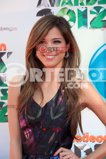 Kelsey Chow at Nickelodeon's 25th Annual Kids' Choice Awards at The Galen Center on March 31, 2012 in Los Angeles, California. © mpi26/MediaPunch Inc.
