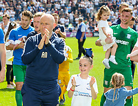 Preston North End manager Alex Neil applauds the fans after the match<br /> <br /> Photographer Alex Dodd/CameraSport<br /> <br /> The EFL Sky Bet Championship - Preston North End v Burton Albion - Sunday 6th May 2018 - Deepdale Stadium - Preston<br /> <br /> World Copyright &copy; 2018 CameraSport. All rights reserved. 43 Linden Ave. Countesthorpe. Leicester. England. LE8 5PG - Tel: +44 (0) 116 277 4147 - admin@camerasport.com - www.camerasport.com