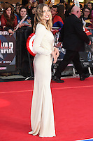 Elizabeth Olsen<br /> arrives for the European premiere of &quot;Captain America: Civil War&quot; at Westfield, Shepherds Bush, London<br /> <br /> <br /> &copy;Ash Knotek  D3111 26/04/2016