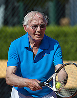 Etten-Leur, The Netherlands, August 23, 2016,  TC Etten, NVK, Hans van Hout (NED)  80+<br /> Photo: Tennisimages/Henk Koster