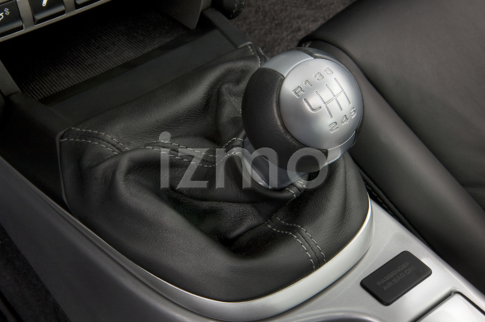 Gear shifter of a 2007 Porsche 911 turdo coupe