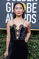 Nominated for BEST PERFORMANCE BY AN ACTRESS IN A SUPPORTING ROLE IN A MOTION PICTURE for her role in &quot;Downsizing,&quot; actress Hong Chau arrives at the 75th Annual Golden Globe Awards at the Beverly Hilton in Beverly Hills, CA on Sunday, January 7, 2018.<br /> *Editorial Use Only*<br /> CAP/PLF/HFPA<br /> &copy;HFPA/PLF/Capital Pictures