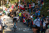 Picture by Richard Blaxall/SWpix.com - 30/09/2018 - Cycling 2018 Road Cycling World Championships Innsbruck-Tirol, Austria - Men's Elite Road Race - Crowds  on the Ride to Höll (Hell)
