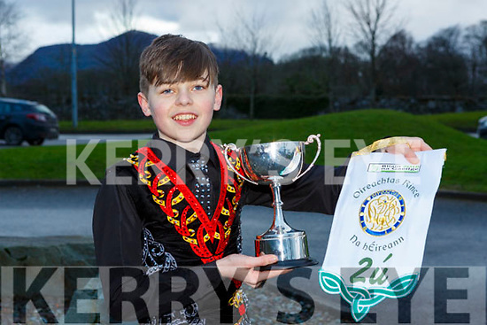Sean Slemon Moyvane who qualified for the World Finals at the Oireactas Rince na hÉireann in the INEC last week
