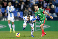 CD Leganes' Ruben Perez (L) and Deportivo Alaves' Manu Garcia  during La Liga match. November 23,2018. (ALTERPHOTOS/Alconada) /NortePhoto.com