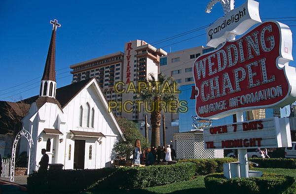 Candlelight Wedding Chapel and Riviera Hotel, Las Vegas, Nevada, USA