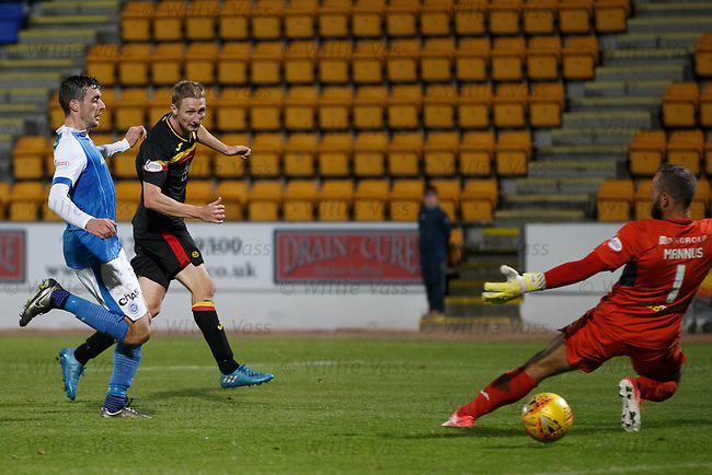 Chris Erskine scores goal no 3 for Partick Thistle