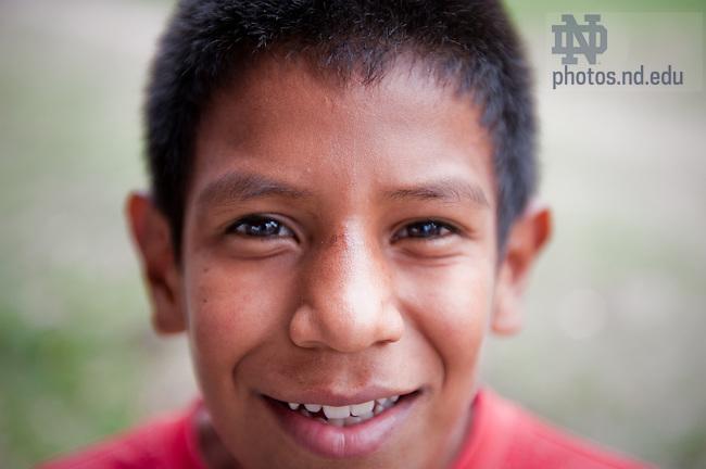 Mar. 15, 2011; Nuestros Pequeños Hermanos, near Tegucigalpa, Honduras...Photo by Matt Cashore/University of Notre Dame