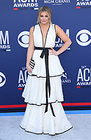 07 April 2019 - Las Vegas, NV - Lauren Alaina. 54th Annual ACM Awards Arrivals at MGM Grand Garden Arena. Photo Credit: MJT/AdMedia<br /> CAP/ADM/MJT<br /> &copy; MJT/ADM/Capital Pictures