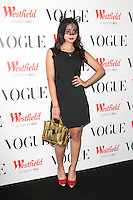 Westfield 5th birthday celebrations with a Vogue pop-up party held at Westfield Shopping Centre, London - October 30th 2013<br /> <br /> Photo by Keith Mayhew
