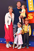 "Jaqueline Jossa and Dan Osbourne<br /> arriving for the ""Toy Story 4"" premiere at the Odeon Luxe, Leicester Square, London<br /> <br /> ©Ash Knotek  D3509  16/06/2019"