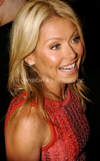 WWW.ACEPIXS.COM . . . . .  ....April 27 2011, New York City....Kelly Ripa arriving at the Broadway opening night of 'The Normal Heart' at The Golden Theatre on April 27, 2011 in New York City. ....Please byline: NANCY RIVERA- ACEPIXS.COM.... *** ***..Ace Pictures, Inc:  ..Tel: 646 769 0430..e-mail: info@acepixs.com..web: http://www.acepixs.com