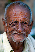 Elderly Indian man, Mysore - Southern India.