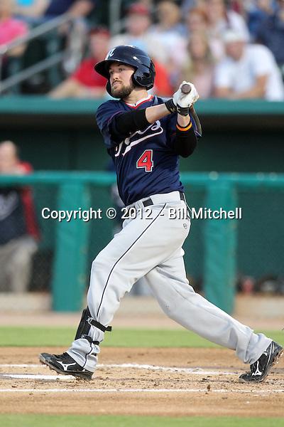 Taylor Harbin - 2012 Reno Aces (Bill Mitchell)