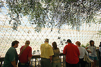 Visitors at Biosphere II, Oracle, Arizona