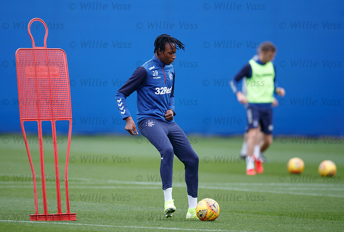 24.09.2019 Rangers training: Joe Aribo