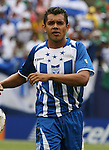 10 June 2007: Honduras' Amado Guevara. The Honduras Men's National Team defeated the National Team of Mexico 2-1 at Giants Stadium in East Rutherford, New Jersey in a first round game in the 2007 CONCACAF Gold Cup.