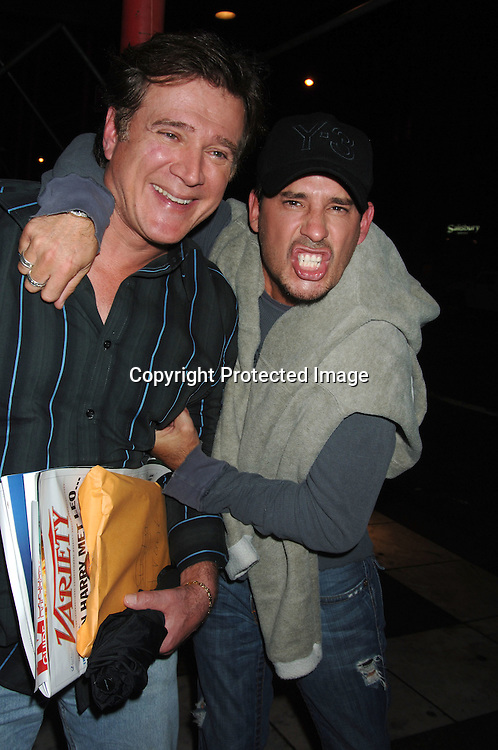 "Frank Dicopoulos and Ricky Paull Goldin ..at a screening of  the pilot ""On The Set"" on September 15,2 006 at The New York Television Festival at The DGA Theatre. ..Robin Platzer, Twin Imgages"