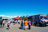 5th Annual Garlic Festival, August 2013 (hosted by The Sharing Farm) at Terra Nova Rural Park, Richmond, BC, British Columbia, Canada - On-site Food Trucks