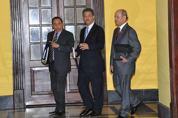 Presidente Fernandez, en 3era.  reunion con el consejo nacional de la magistratura en el palacio nacional.Fotos: Carmen Suárez/acento.com.do.Fecha: 14/09/2011.