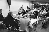 1992, ABNAMROWTT, persconferentie met Boris Becker