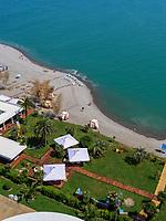 Strand und Promenade, Batumi, Adscharien - Atschara, Georgien, Europa<br /> beach and promenade, Batumi, Adjara,  Georgia, Europe