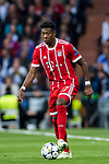 David Alaba of FC Bayern Munich in action during the UEFA Champions League Semi-final 2nd leg match between Real Madrid and Bayern Munich at the Estadio Santiago Bernabeu on May 01 2018 in Madrid, Spain. Photo by Diego Souto / Power Sport Images