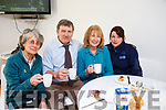 Enjoying the coffee morning hosted by Tralee Garda Station on Monday morning last, l to r: Syliva Thompson, Inspector John Brennan, Helen O'Sullivan and Garda Marion McCarthy.