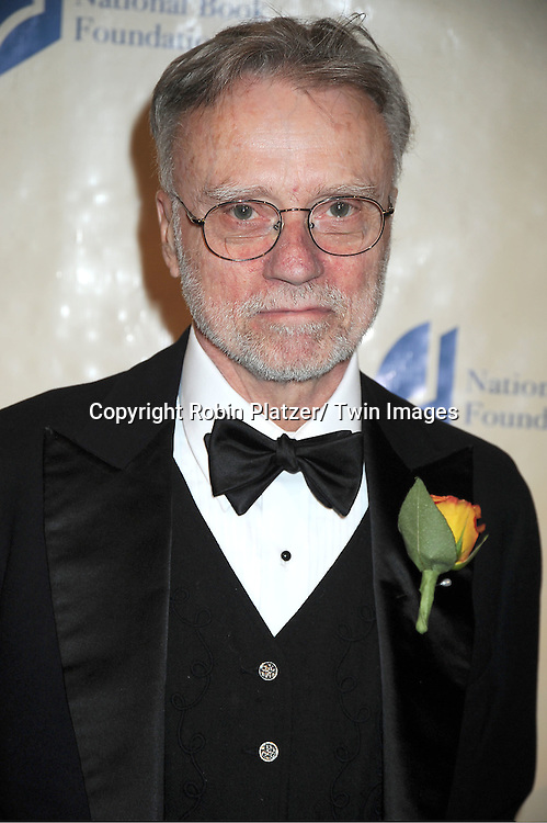 judge John Crowley attends The 2011 National Book Awards Gala on November 16, 2011 at Cipriani Wall Street in New York City.