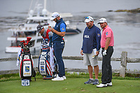 Graeme McDowell (NIR) looks over his tee shot on 7 during round 2 of the 2019 US Open, Pebble Beach Golf Links, Monterrey, California, USA. 6/14/2019.<br /> Picture: Golffile | Ken Murray<br /> <br /> All photo usage must carry mandatory copyright credit (© Golffile | Ken Murray)