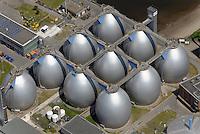 Klaerwerk Koehlbrandhoeft: EUROPA, DEUTSCHLAND, HAMBURG, (EUROPE, GERMANY), 09.06.2013:  Klaerwerk Koehlbrandhoeft