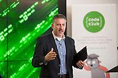 Eric Van Der Kleij, Head of Level39.  Code Club event, Level39, Canary Wharf.