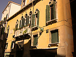Italian building with windows