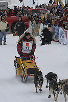 Mitch Seavey Willow restart Iditarod 2008.