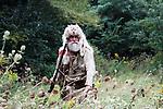 Early historical USA hunter
